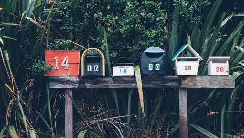 Gestion boite mail